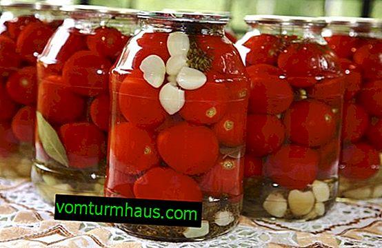 Как да мариновате домати за зимата в буркани
