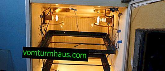 Jak zrobić inkubator z lodówki własnymi rękami: instrukcje produkcyjne krok po kroku
