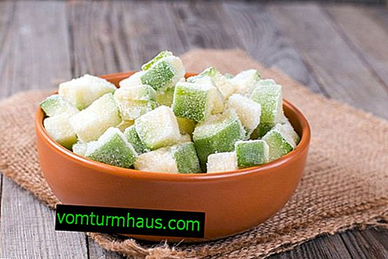 Ako zmraziť cukinu na zimu čerstvé