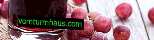 Sådan lukkes kompott fra druer til vinteren uden sterilisering