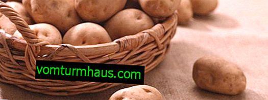 Hur man lagrar potatis på balkongen och vad är det bästa sättet
