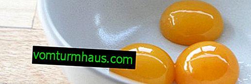 Żółtko jaja kurzego: korzyści i szkody, konsumpcja i stosowanie