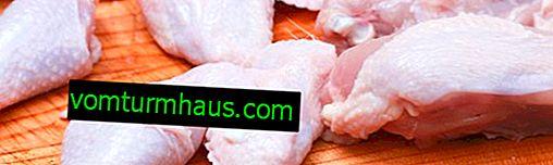 Come tagliare il pollo in porzioni