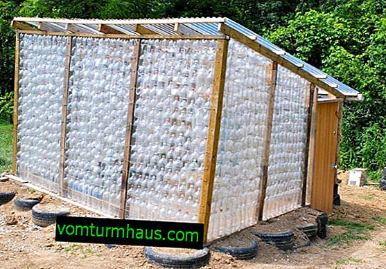 How to make a greenhouse from bottles with your own hands?
