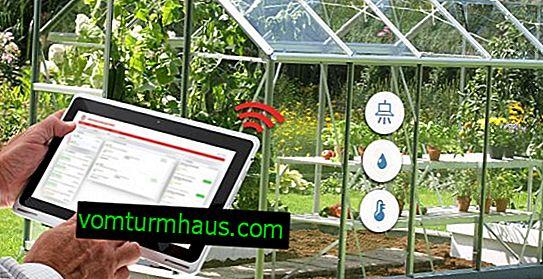 Gör-det-själv smart automatisk polykarbonat växthus