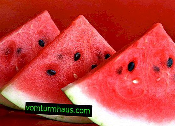 Vitaminska sestava in koristne lastnosti lubenice