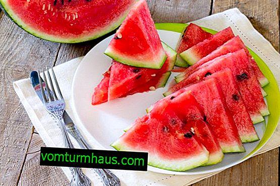 Ali je mogoče jesti lubenico z gastritisom?