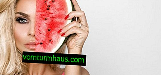 What is watermelon useful for facial skin?