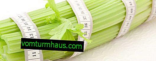 Merkmale der Verwendung von Sellerie zur Gewichtsreduktion