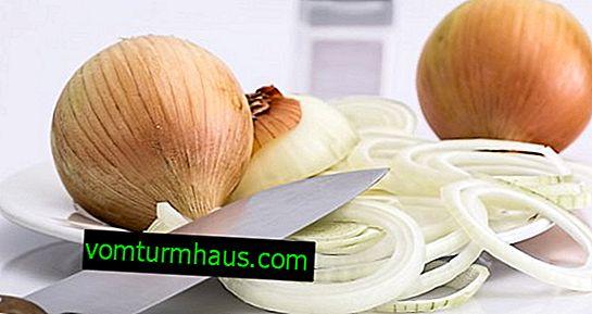 Caractéristiques de l'utilisation des oignons contre la toux