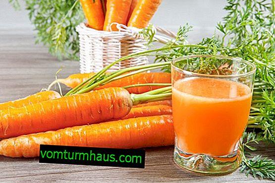 Kan jeg spise gulerødder med gastritis?