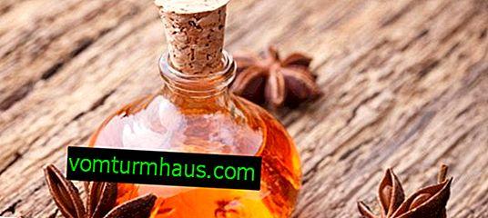 Características del uso de aceite de anís.
