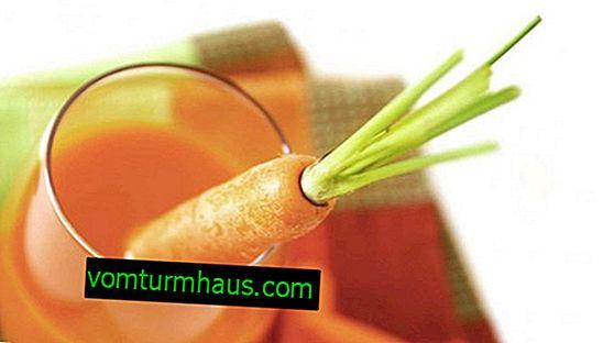 Kaj je uporaben korenčkov sok in kako ga uporabiti?