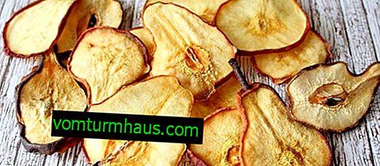 Torkar päron hemma