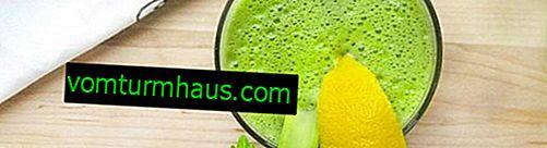 Tıbbi bir limon, bal ve kereviz karışımı kullanımının özellikleri