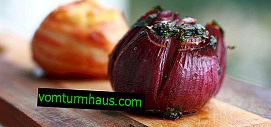 Merkmale der Verwendung von gebackenen Zwiebeln bei Diabetes