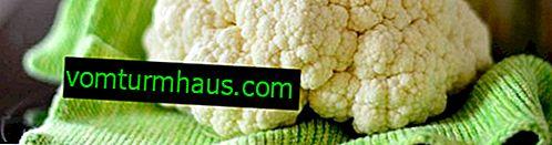 Характеристики на употребата на карфиол при панкреатит