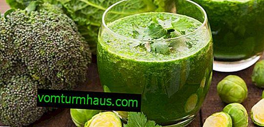 Funktioner ved brugen af kål juice til gastritis