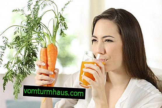 Qu'est-ce que le jus de carotte est bon pour les femmes?