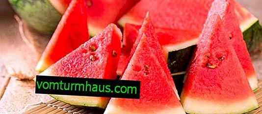 Funktioner för användning av vattenmelon som diuretikum