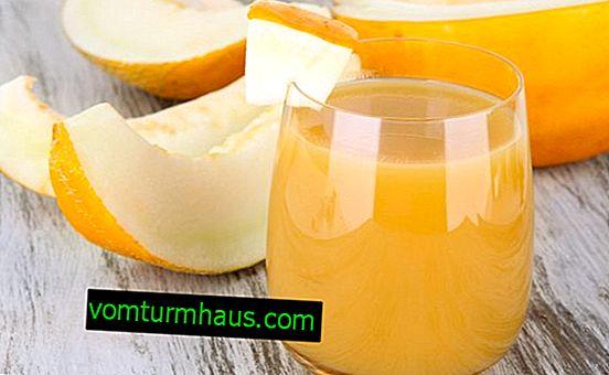 Hur gör jag juice från melon hemma på vintern?