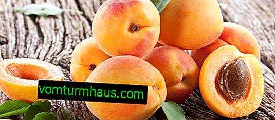 Apresenta propriedades benéficas e não saudáveis do damasco