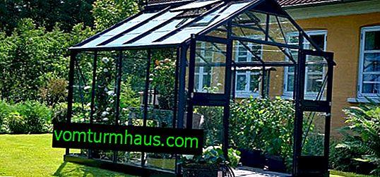 Značajke izgradnje staklenika s prozorima dvostrukog stakla