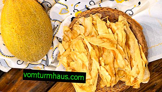 Features of dried melons at home