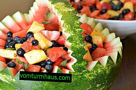 Compatibilité pastèque avec fruits, produits laitiers