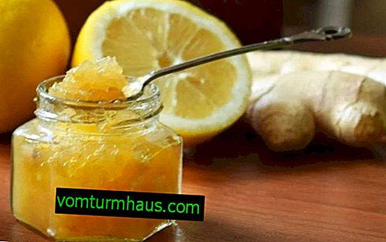 Renforcement de l'immunité à l'aide de gingembre, de miel et de racine de citron: mélanger, boire, thé, cocktail