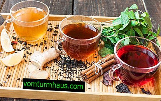 Thé, café au gingembre et cannelle: bienfaits