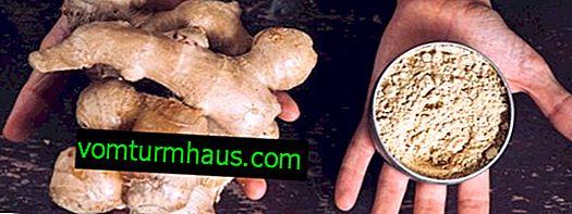 Le gingembre pour le psoriasis: possible ou non