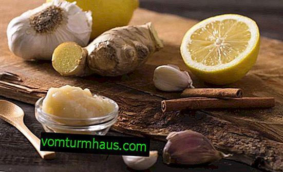 Wie man Gewicht verliert: Ingwer, Zitrone und Knoblauch