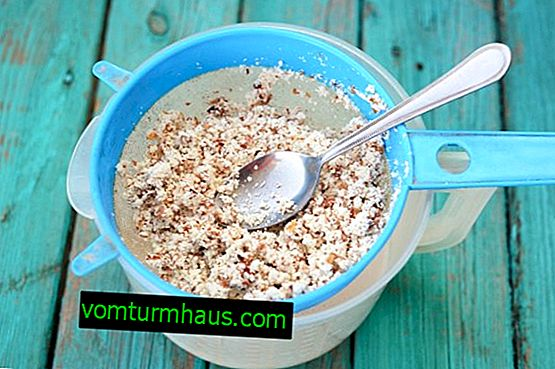 The use of almond meal