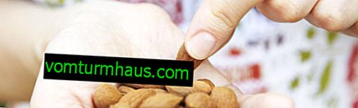 Je možné jesť mandle s chudnutím a v akom množstve