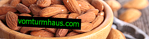 Almond storage at home