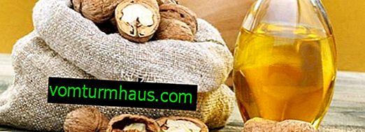 Useful properties of walnut oil