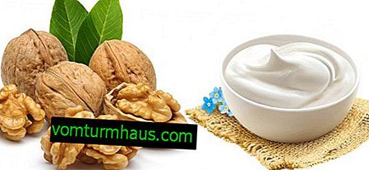 Los beneficios de la nuez con crema agria para hombres