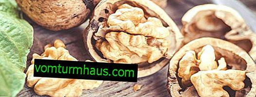 Er det muligt at spise valnødder på tom mave med hypertension