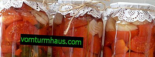 Najlepšie recepty na konzervované a nakladané ružové paradajky na zimu